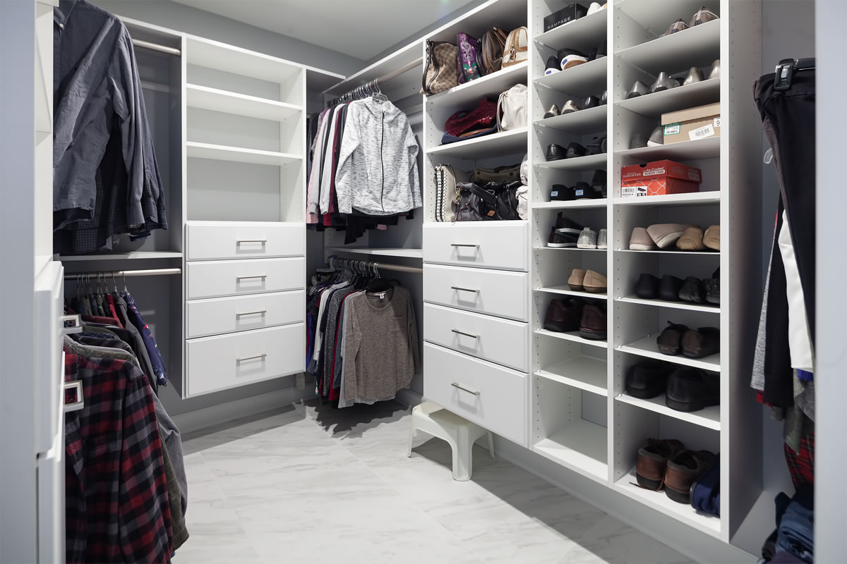 Charlotte: Closet and Master Bath Remodeling
