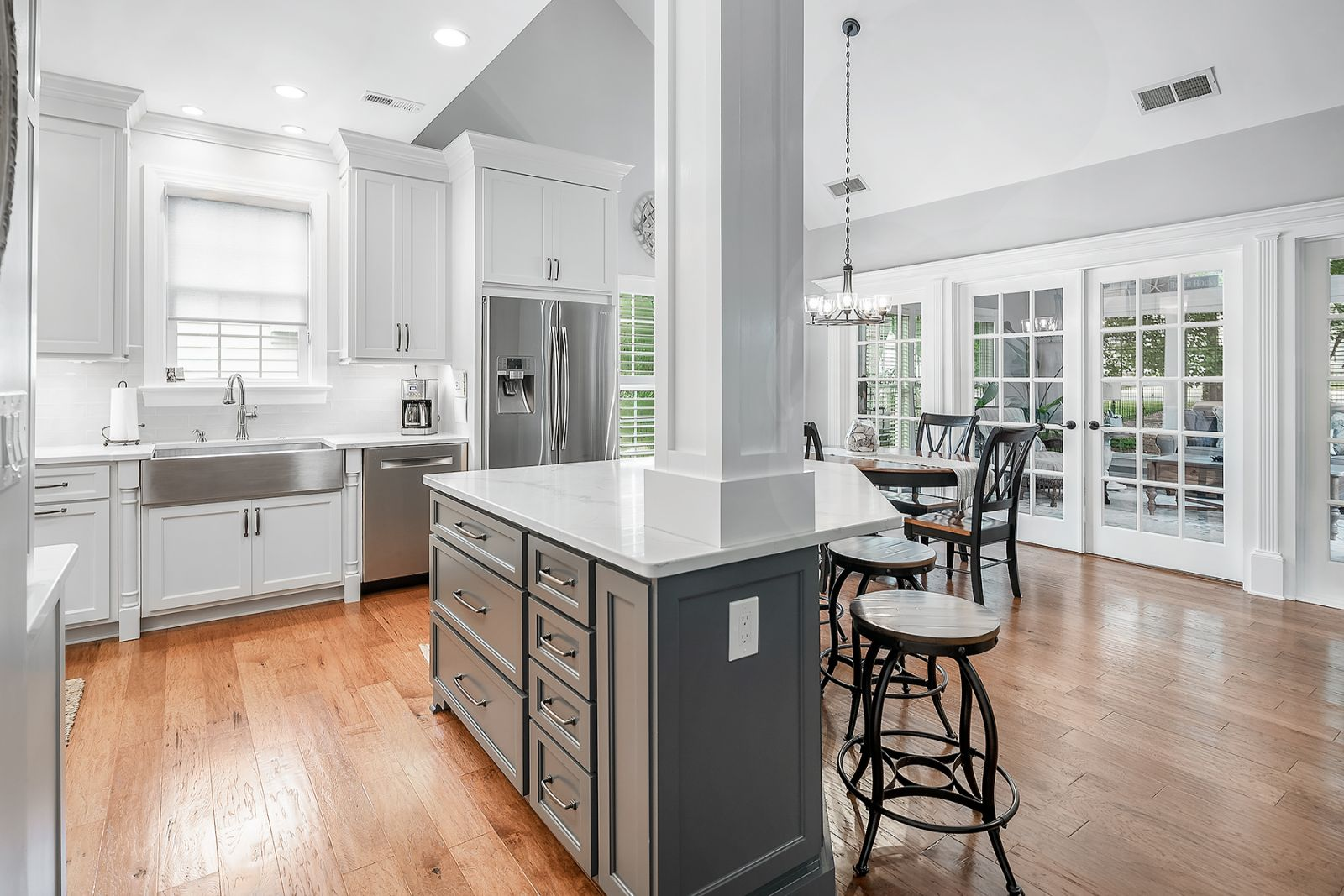 Mitchell Glen: Living Space Remodel